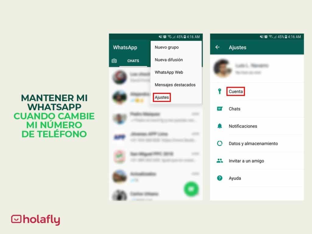 mantener whatsapp