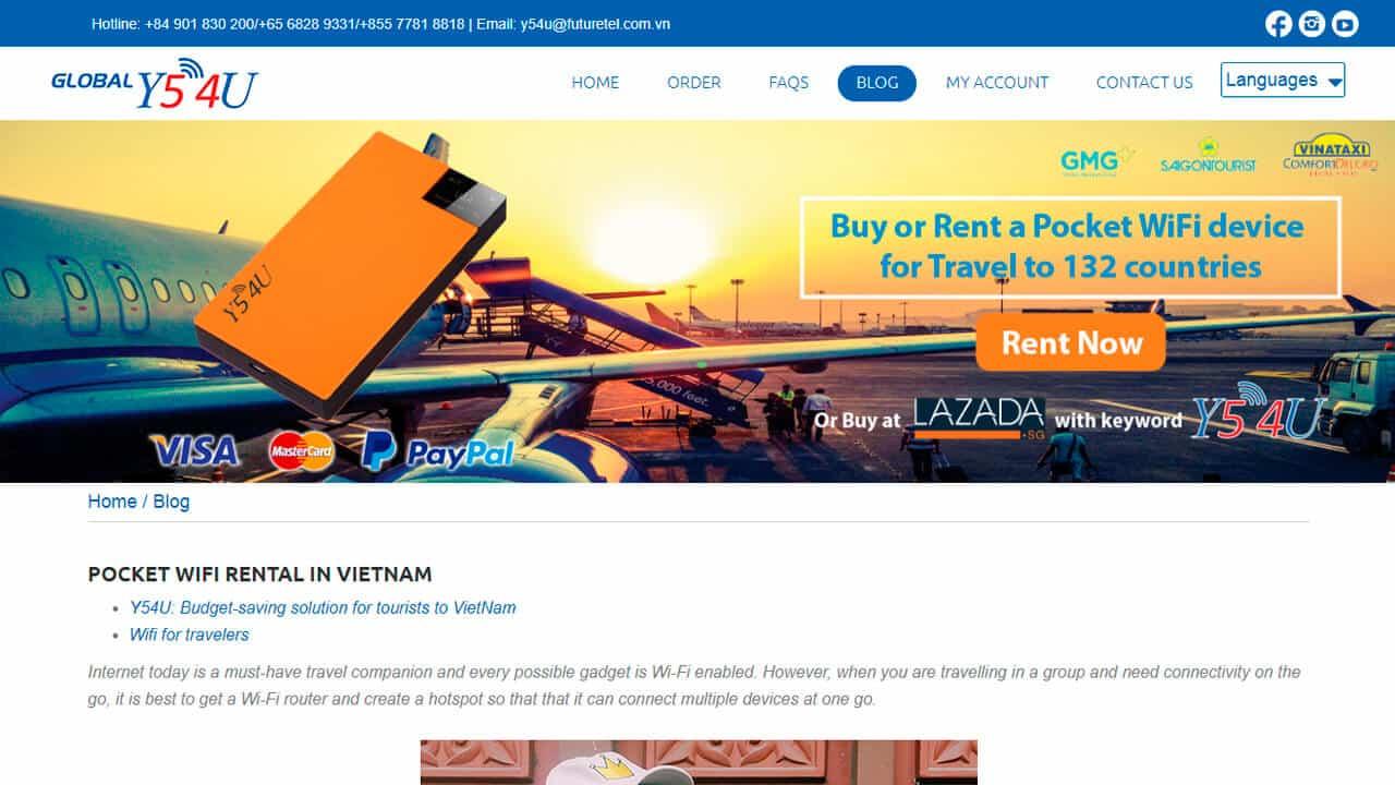 roaming vietnam pocket wifi