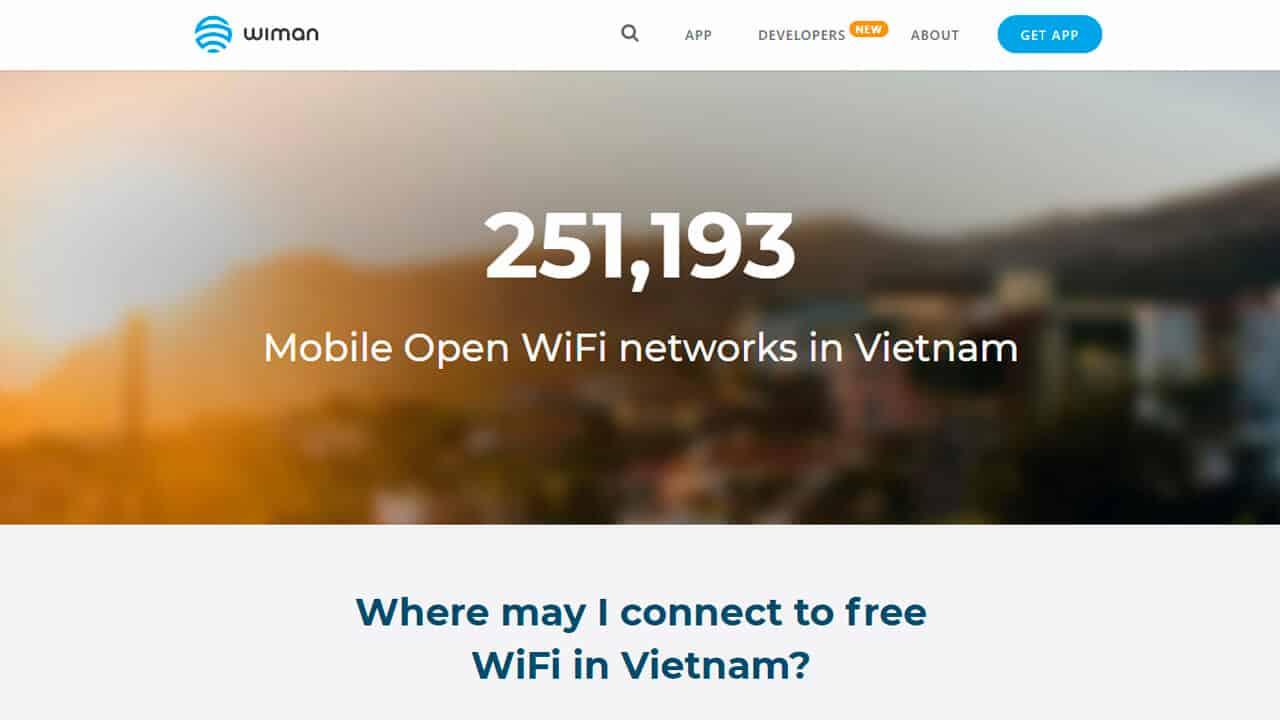 roaming vietnam wifi gratis