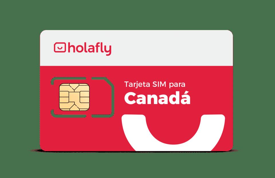 SIM de datos de Holafly para evitar el roaming en Canadá