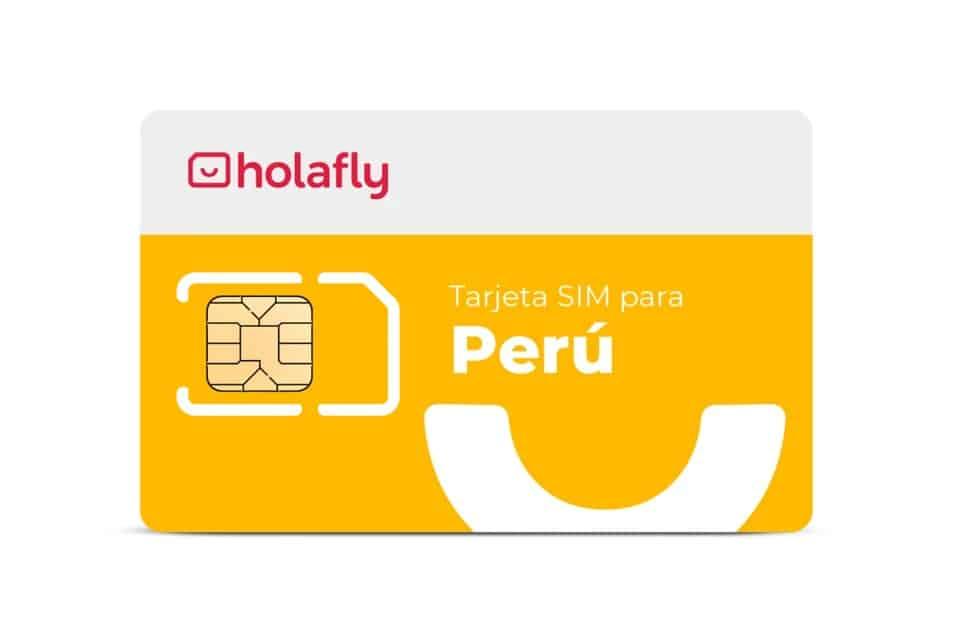 Tarjeta SIM de datos para tener Internet en Perú - Holafly