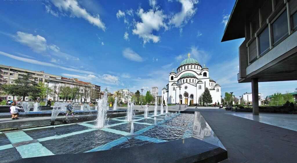 Templo de St. Sava en Belgrado, Serbia