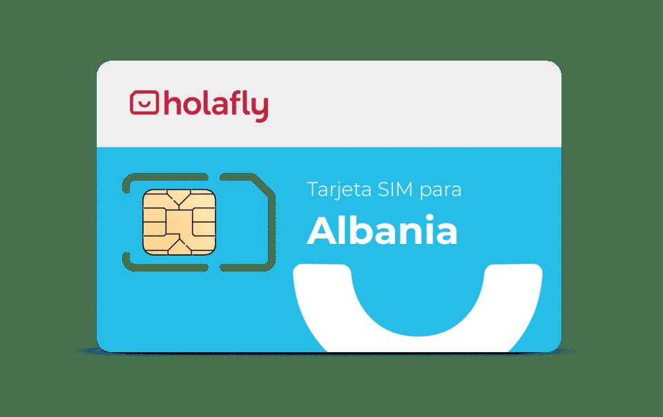 tarjeta prepago internet Albania