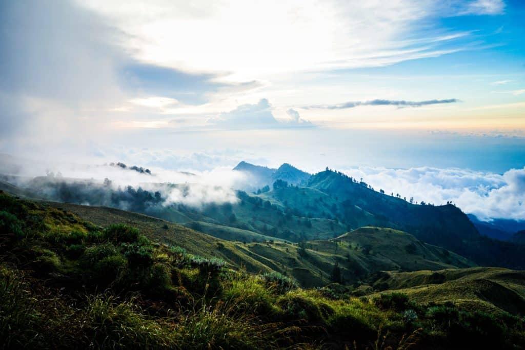 Monte Rijani, indonesia