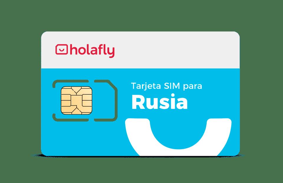 Tarjeta SIM para Rusia de Holafly