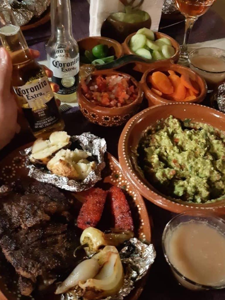 comida carne asada CDMX, ciudad de México
