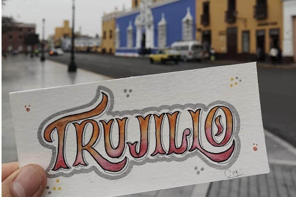 Trujillo, letras viajeras en Perú