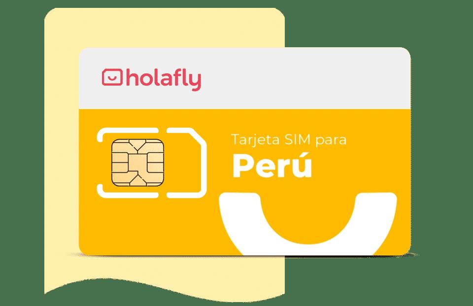 tarjeta sim de datos Perú de Holafly